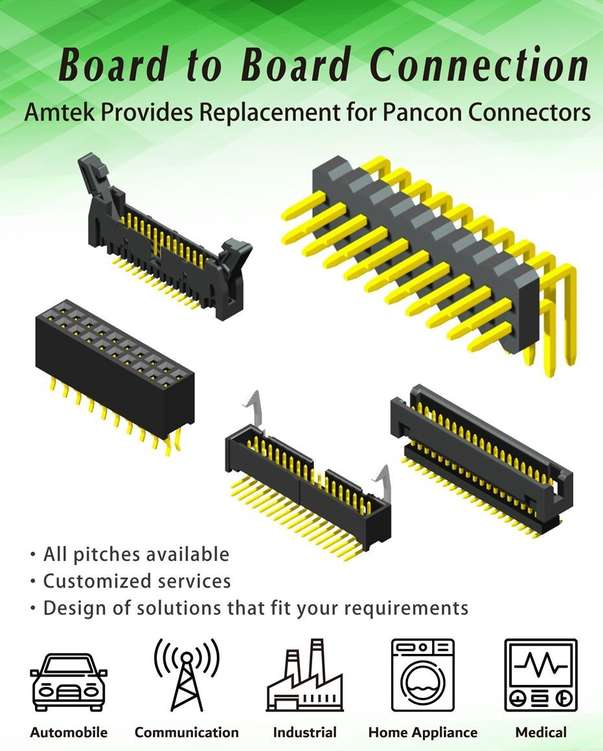 Amtek board to board connectors