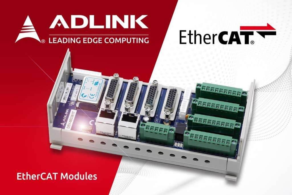 ADLINK launches new Ether CAT modules 21041315380677988