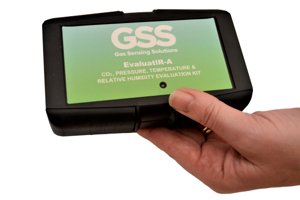 GSS Evaluat IR A in hand